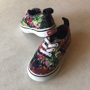VANS Marvel Toddlers sneakers New Size 5.5♥️